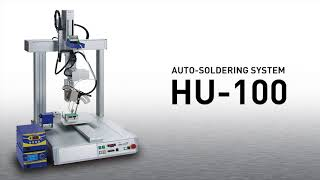 HAKKO HU-100; 4-Axis Table-Top Type Soldering Robot