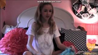 getlinkyoutube.com-Chloe Lukasiak and Maddie Ziegler's Clothing Haul from Sally Miller