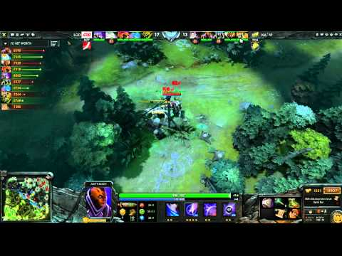 LGD vs Na`Vi -  Winner Bracket Semifinals Game 1 - The International - English Commentary