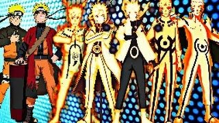 getlinkyoutube.com-Naruto Uzumaki - All Evolutions (OLD)