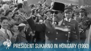 getlinkyoutube.com-Sukarno In Hungary (1960)
