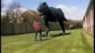 getlinkyoutube.com-T-rex dinosaur FX test