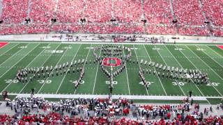 "getlinkyoutube.com-Ohio State Marching Band HALLOWEEN ""Halftime Horrors"" Show October 29 2016 OSU vs NW"