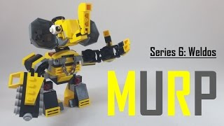 LEGO Instructions - Lego Mixels - Weldos MURP