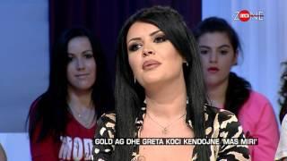 getlinkyoutube.com-Zone e lire - Gold Ag dhe Greta Koci kendojne 'Mas miri'! (09 tetor 2015)
