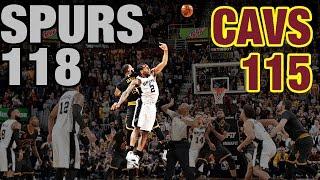 getlinkyoutube.com-Crunch Time In Cleveland: Re-Live The 4th Quarter & OT In Spurs' Huge Comeback Win