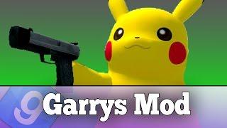 getlinkyoutube.com-PLAY AS PIKACHU IN GARRY'S MOD!