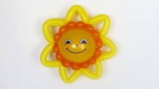 "getlinkyoutube.com-Солнце маленькое из шаров / small Sun balloon / 2x160 + 5"""