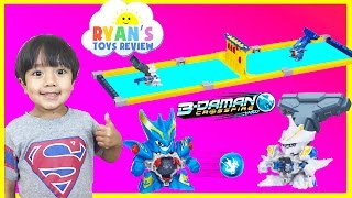 getlinkyoutube.com-B-Daman Crossfire Marble Shooting Japanese toy for Kids Egg Surprise Toys Ninja Turtles