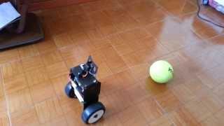 getlinkyoutube.com-Raspberry Pi camera module openCV object tracking and following self balancing robot