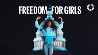 Freedom - International Day of the Girl width=