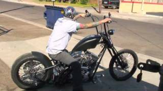 getlinkyoutube.com-The Dark Ride is Test Driven by Matt Beal - Road Rage Performance Custom Choppers and Motorcycles
