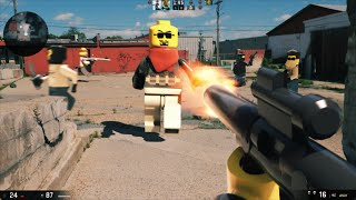 getlinkyoutube.com-LEGO: First Person Shooter