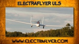 getlinkyoutube.com-ElectraFlyer ULS, ElectraFlyer's Electraflyer ULS electric battery powered ultralight aircraft.