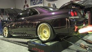 getlinkyoutube.com-Angry Nissan GT-R dyno - PROBLN