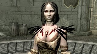 getlinkyoutube.com-Skyrim - Serana In Forsworn Armor (VERY HOT)