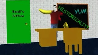 BALDIS OFFICE UNLOCKED! [REACTION] | Baldis Basics in Education and Learning NEW ENDING