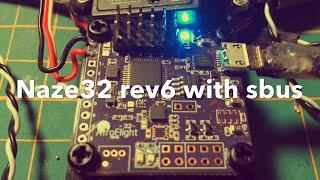 getlinkyoutube.com-Setup | How to enable sbus on naze32 rev6