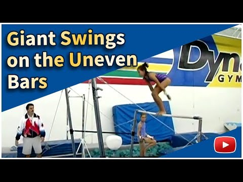Gymnastics for Girls - Uneven bars - Giants - Featuring Coach Steve Nunno