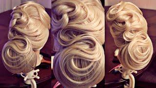 getlinkyoutube.com-Свадебная причёска - Hairstyles by REM
