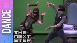 getlinkyoutube.com-The Next Step - Extended: Blindfolded Internationals Dance