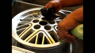 getlinkyoutube.com-Como pulir un rin de aluminio - How to polish aluminum wheel rims