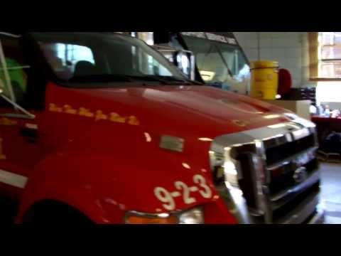 Chicago Fire Department: E106 & T13 House Visit