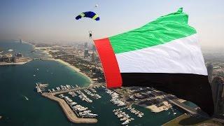 getlinkyoutube.com-2015 UAE Flag Day | #SkydiveDubai