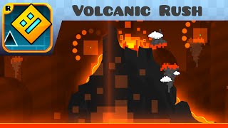 getlinkyoutube.com-Geometry Dash - Volcanic Rush (3 Coins) (Easy Demon) - by Manix