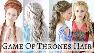 getlinkyoutube.com-Iconic Game of Thrones Hairstyles - Hair Tutorial