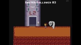getlinkyoutube.com-All W.D. Gaster encounters in Undertale