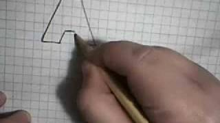 getlinkyoutube.com-How to draw 3D letters (A-L)
