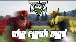 getlinkyoutube.com-GTA 5 PC - The Flash Mod ! feat. Reverse Flash (Superhero MOD Gameplay)