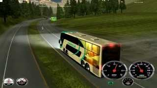 getlinkyoutube.com-18 WOS HAULIN bus trip with Busscar Panoramico DD 8x2 part1
