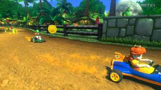 getlinkyoutube.com-Wii U - Mario Kart 8 - (DS) Cheep Cheep Beach