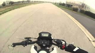 getlinkyoutube.com-Honda Grom vlog - how to pop wheelies