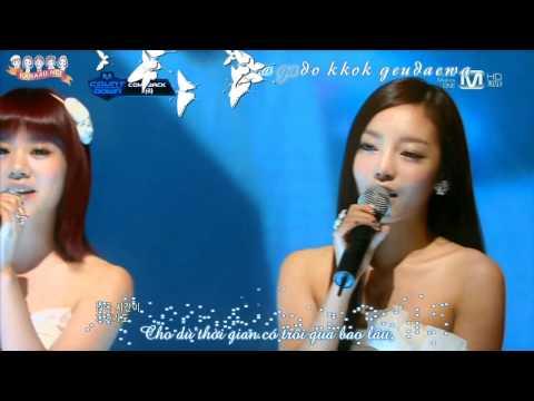 [KARA4U][Vietsub] KARA  -  Dear Kamilia @ Comeback stage MCD