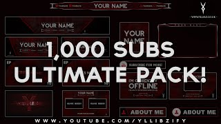 getlinkyoutube.com-Free Graphics: Ultimate Rebrand Template Pack #1 - Photoshop / After Effects / Cinema 4D