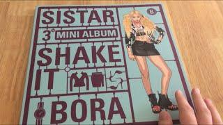 getlinkyoutube.com-UNBOXING: SISTAR 'Shake It' (Bora Version) 3rd Mini Album CD