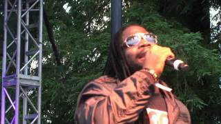 Gramps Morgan 'For One Night' Reggae on the River July 16, 2011