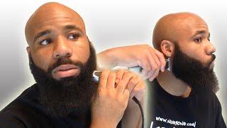 getlinkyoutube.com-How To Trim Your Beard | Shape Up | Time Lapse!
