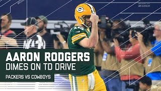 Rodgers Caps Flawless Drive with TD Pass to Cook! | Packers vs. Cowboys | NFL Divisional Highlights