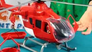 Rettungshubschrauber mit Licht & Sound / Helikopter ratunkowy Rescue - Dickie - www.MegaDyskont.pl