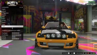 getlinkyoutube.com-GTA V Online: NEW Sultan RS Customization & Gameplay [Benny's Original Motor Works DLC Update]