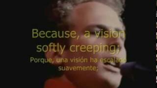 getlinkyoutube.com-EL SONIDO DEL SILENCIO. Subtitulada en Ingles-Español.PAUL SIMON & ART GARFUNKEL