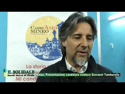 Video: Mineo - Presentazione candidato sindaco Giovanni Tamburello