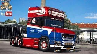 getlinkyoutube.com-[ETS2 v1.25] Scania T620 C&M Transports + Cabin DLC ready