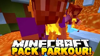 getlinkyoutube.com-Minecraft - THE PACK vs CHRISTMAS EVE PARKOUR! (FUNNY RAGE MOMENTS!)