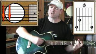 getlinkyoutube.com-Bad Moon Rising - Creedence Clearwater Revival - Acoustic Guitar Lesson (easy)