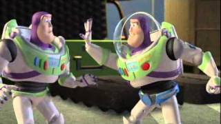 getlinkyoutube.com-Pixar: Toy Story 2 - movie clip - Buzz Lightyear vs Buzz Lightyear! (Blu-Ray promo)